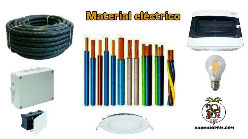 material-eléctrico