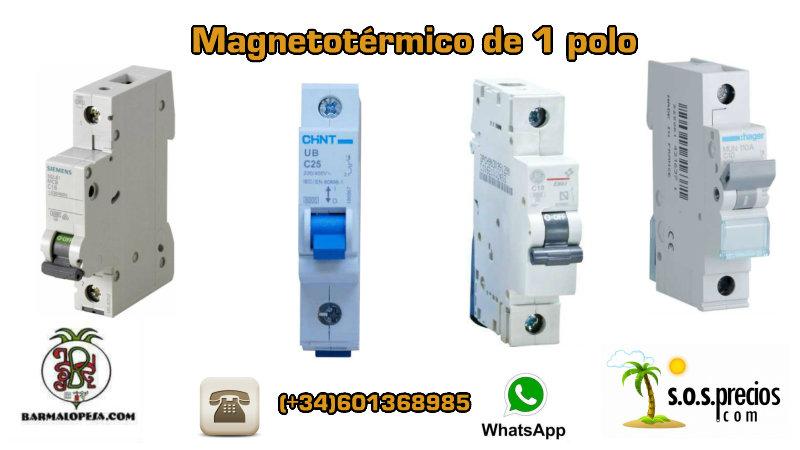 magnetotérmico-unipolar