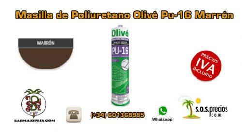 Masilla de Poliuretano Olivé Pu-16 Marrón