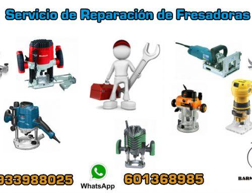 Servicio de Reparación de Fresadoras