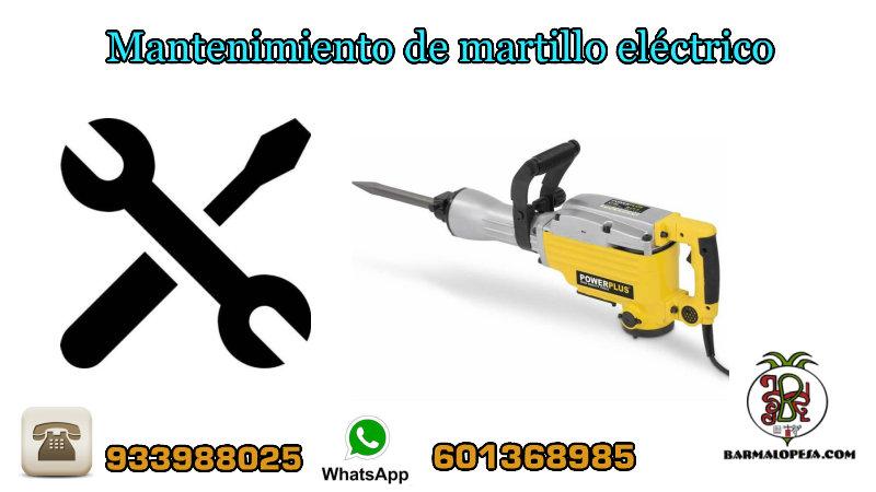 mantenimiento-de-martillo-eléctrico