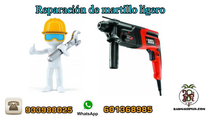 reparación-de-martillo-eléctrico-ligero