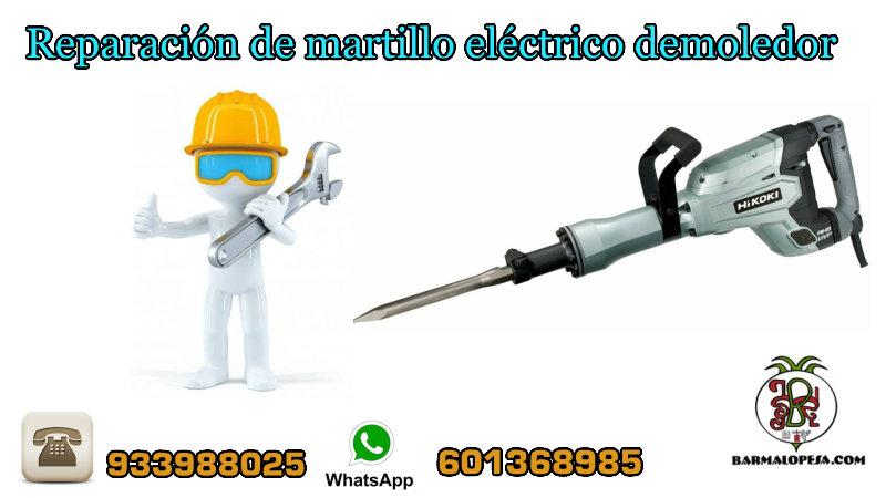 reparación-de-martillo-rompedor-o-demoledor-eléctrico