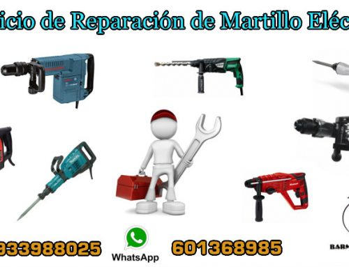 Servicio de Reparación de Martillo Eléctrico