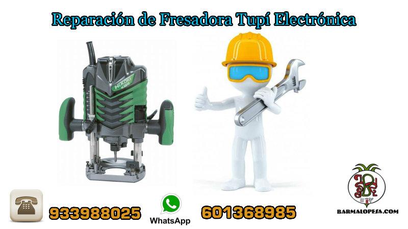 Reparación-de-Fresadora-Tupí-Electrónica