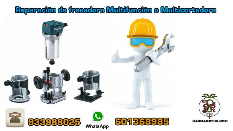 Reparación de fresadora Multifunción o Multicortadora