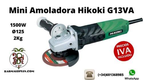 Mini-Amoladora-Hikoki-G13VA