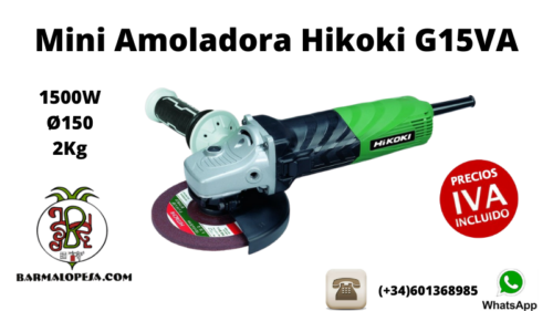 Mini-Amoladora-Hikoki-G15VA